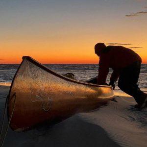 Neal Moore in Final Stage of Canoe Journey Across U.S.