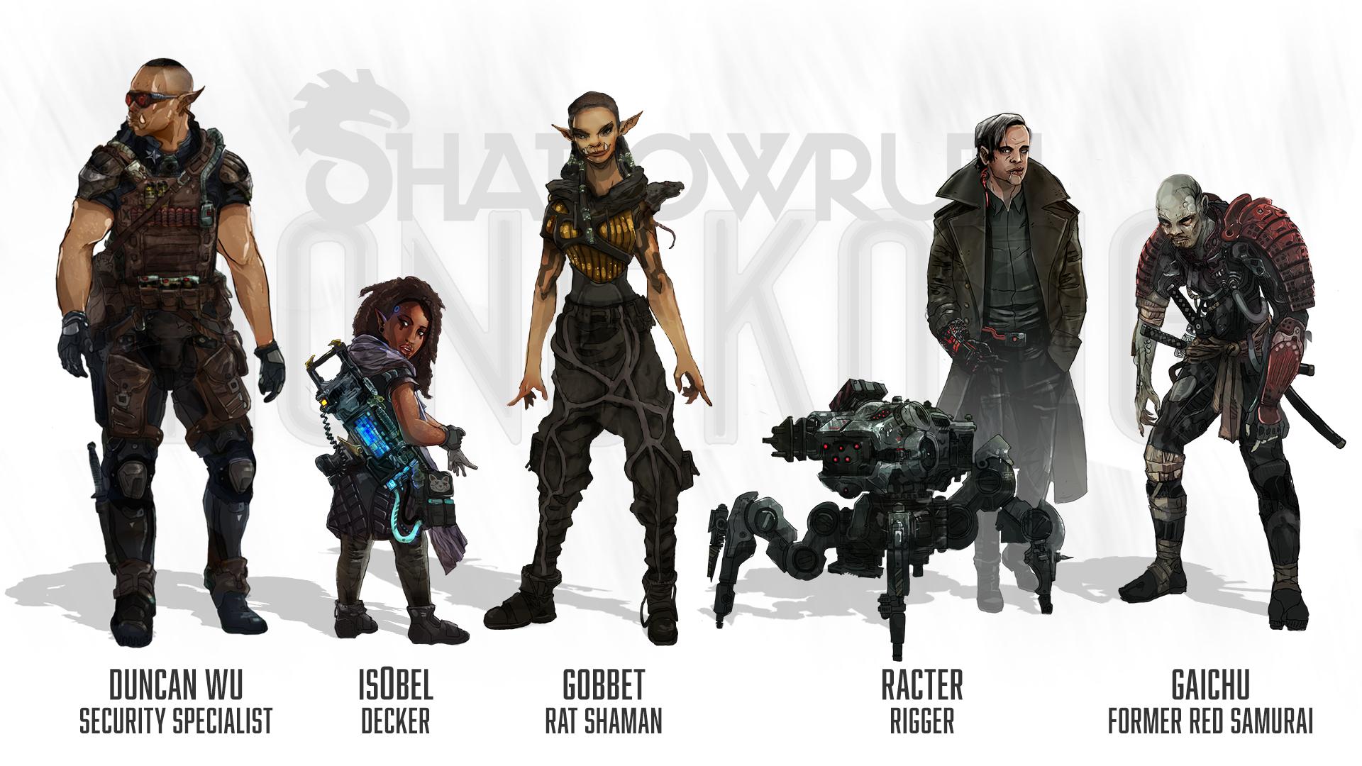 Character Design Hong Kong : Shadowrun hong kong pre release discussion