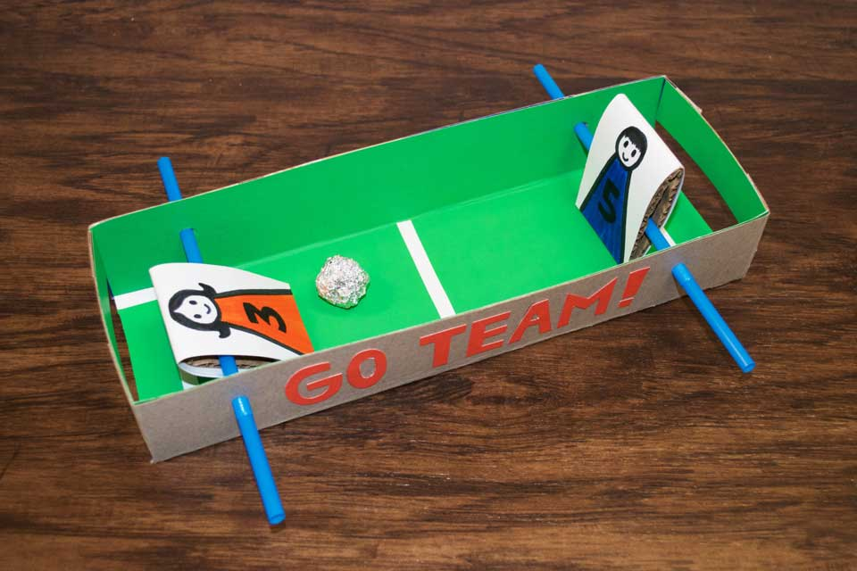 Make a Tabletop Soccer Game