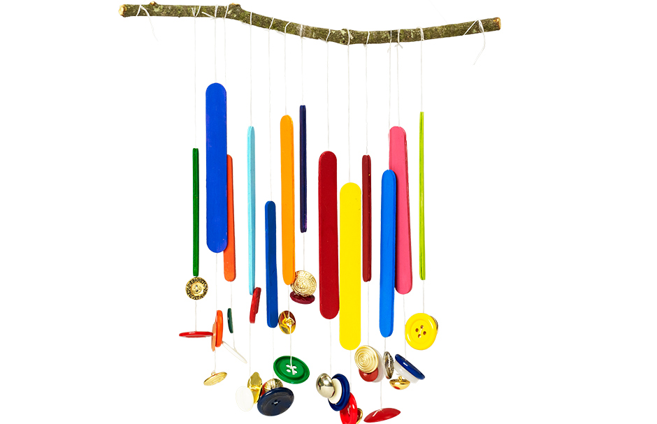Woodsy Wind Chimes