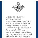 Angels Of Healing Sitter Service