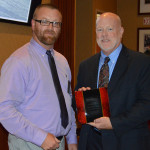 Chris Duree receives NCMPR Award