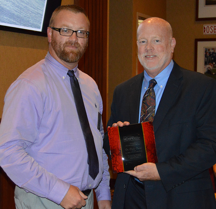 Duree receives NCMPR Pacesetter Award