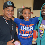 At the Back to School Bash