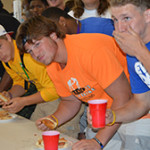 Hot Dog eating contest!