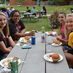 Picnic on the main campus.