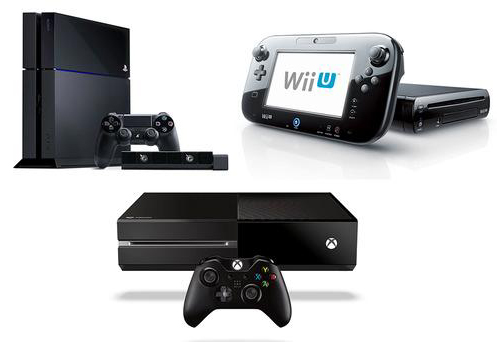wii, xbox, playstation image