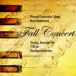 ECC Fall Concert Poster