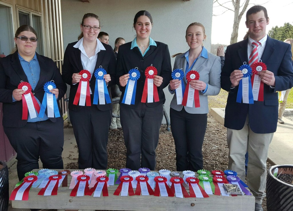 ECC Horse Judging Team