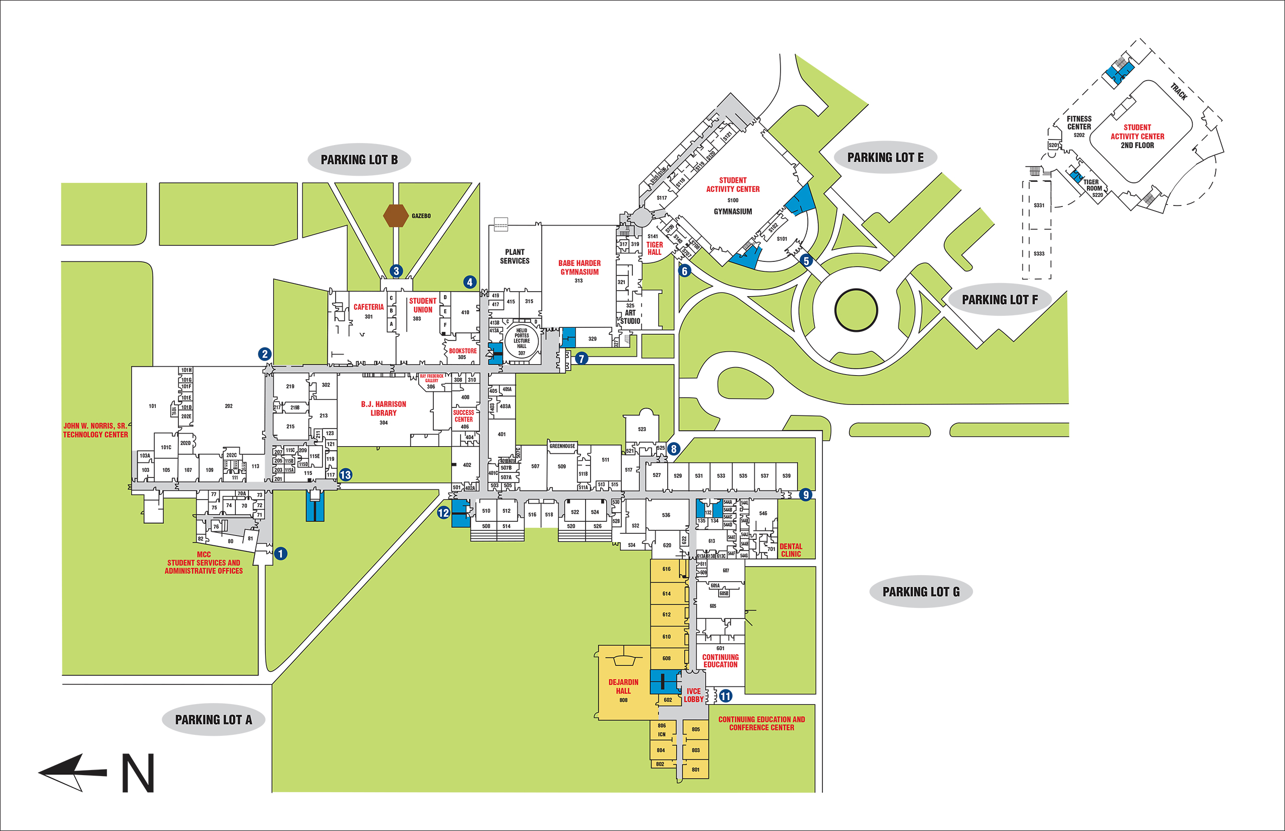 Mcc Campus Map | My Blog
