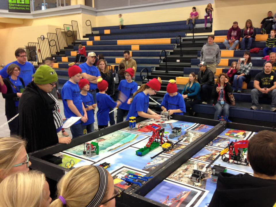 Over 70 volunteers help with First Lego League Tournament