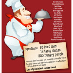 18 Men Who Cook poster