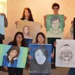 MCC Drawing students