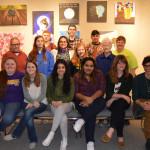 Student Painting Exhibit