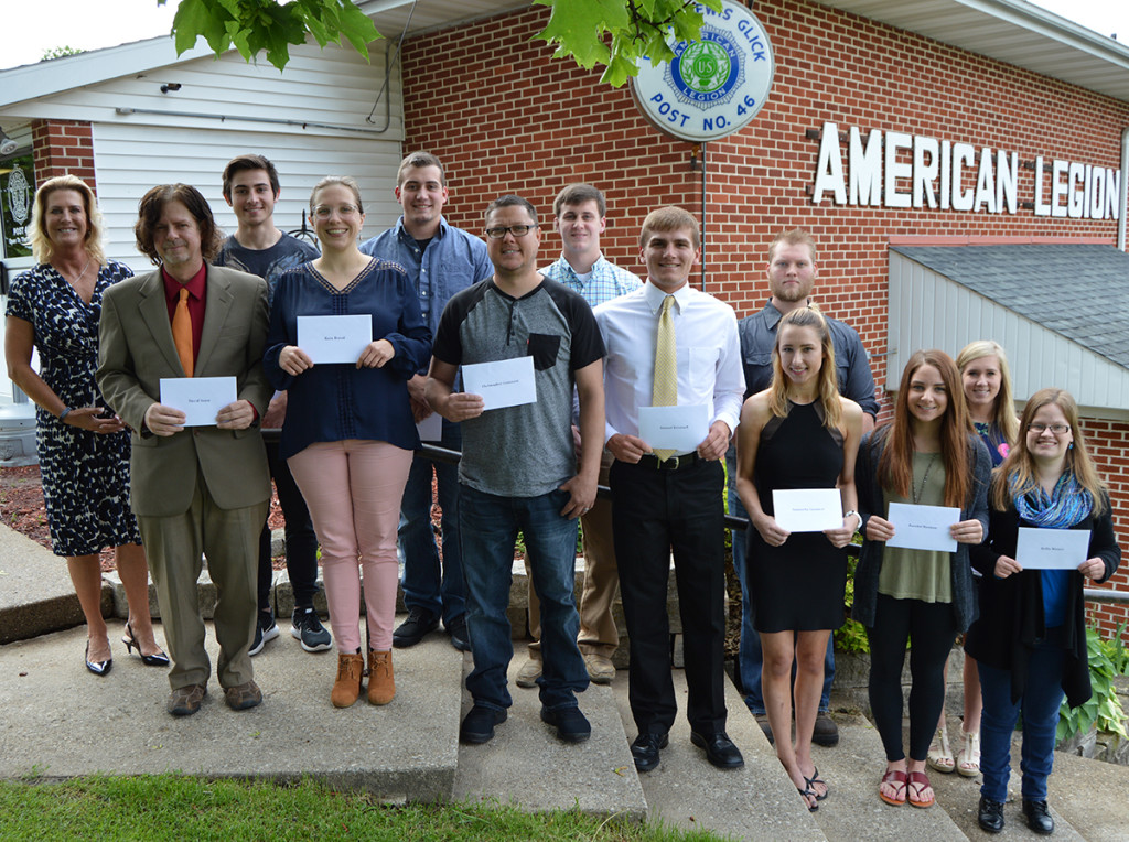 Fairall Memorial Scholarship winners