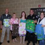 PTK donates blankets