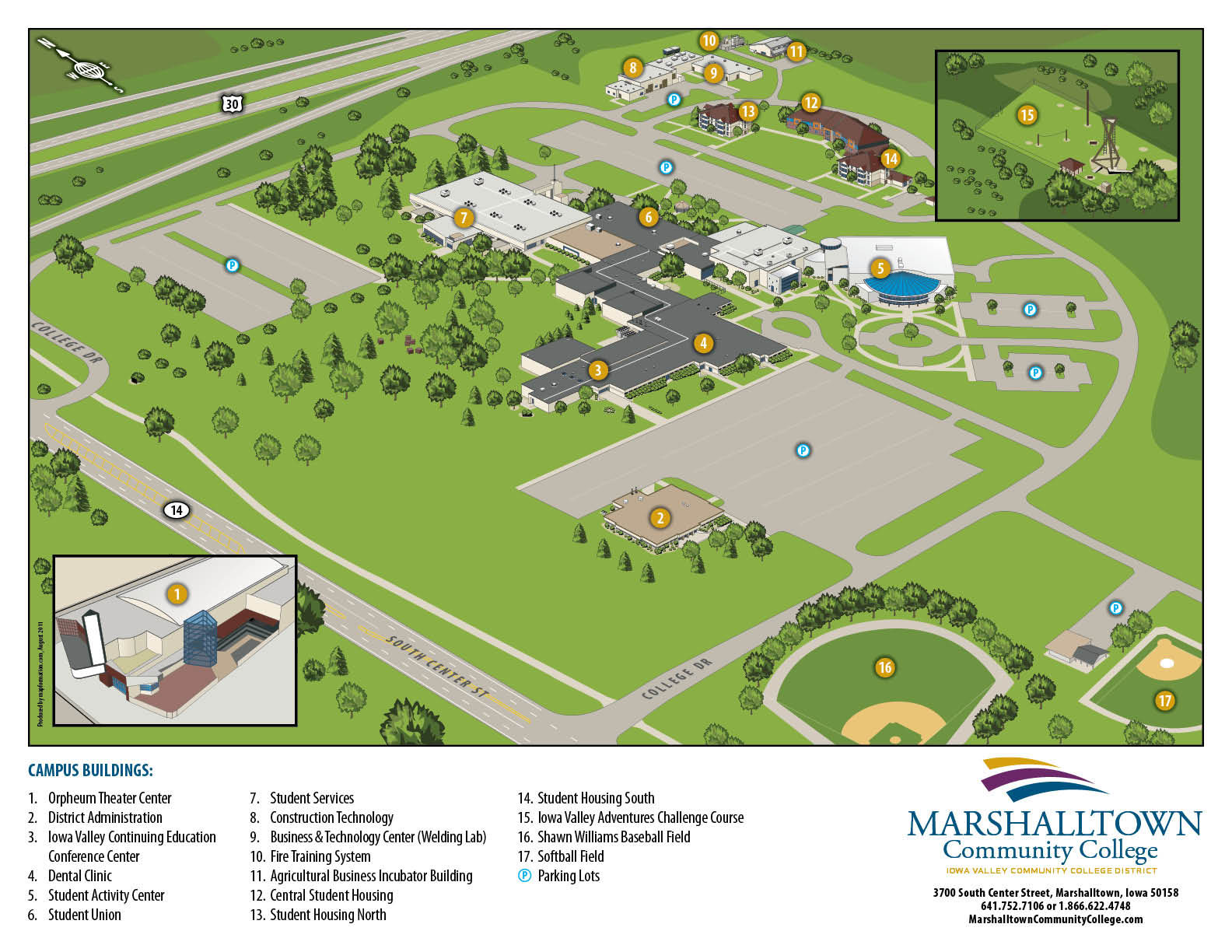 Union County College Campus Map.Visit Iowa Valley Continuing Education