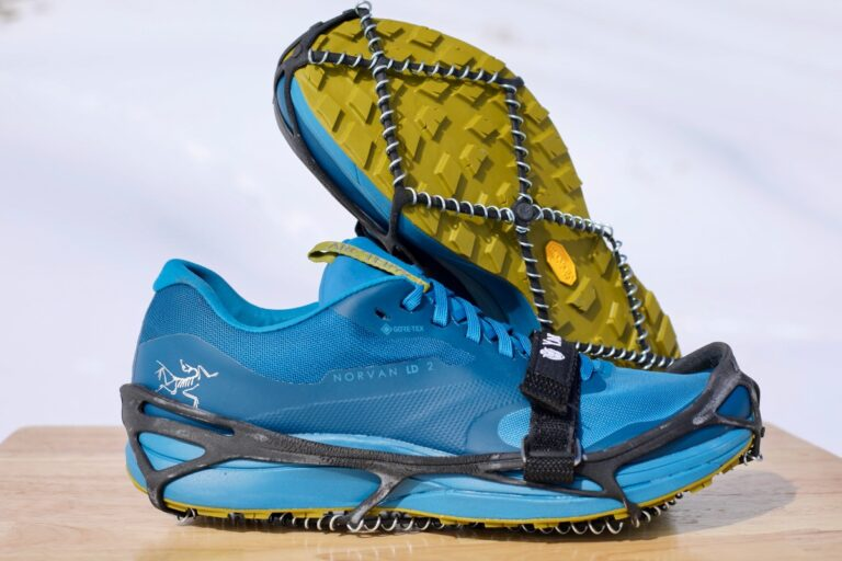 Yaktrax Pro winter running traction devices