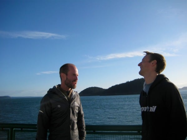 Sean Meissner Matt Hart ferry ride
