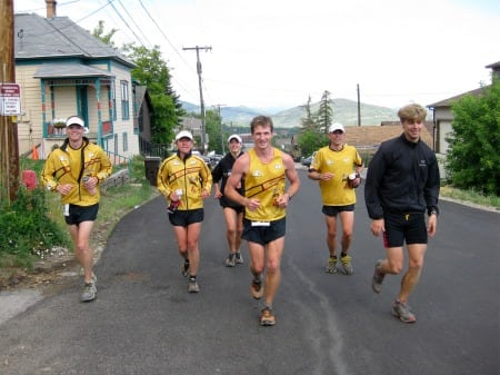 La Sportiva Mountain Cup competitive runners