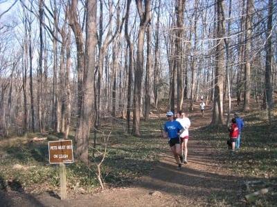 Potomac Overlook Park Trail Runs