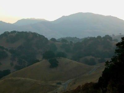 Mount Diablo from Shell Ridge