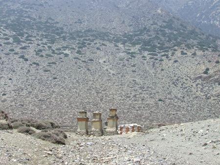 Lupra Muktinath valleys pass
