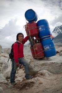 Nepali porter