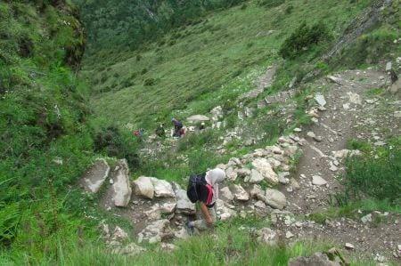 Nepali switchbacks