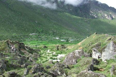 Nepali mounain town