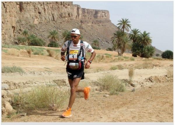 Mohamad Ahansal Stage 4 Marathon des Sables 2010