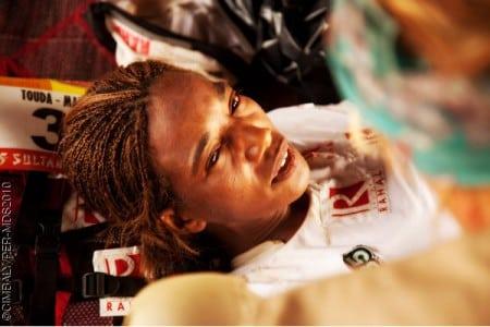 Touda Didi 2010 Marathon des Sables withdraw