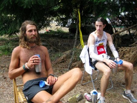 Anton Krupicka Michael Wardian White River 50 mile 2009