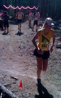 Megan Kimmell 2010 Jemez Half Marathon