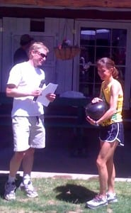 Laura Haefeli 2010 Jemez Half Marathon