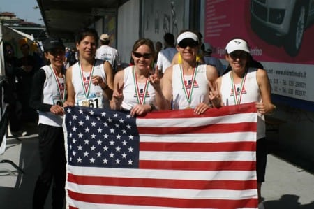 American women 2009 24 hour world championships