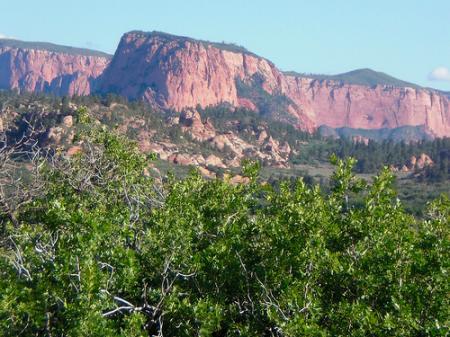 Kolob Canyon toward Hop Valley