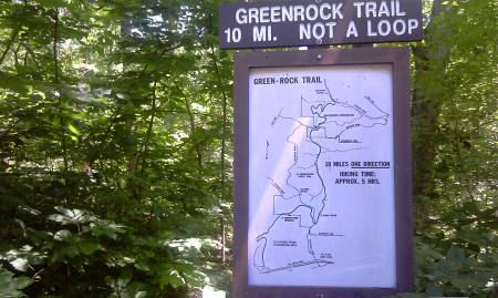 Green Rock Trail Head Fox Creek