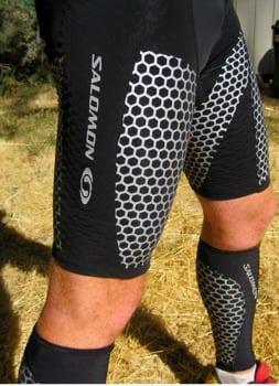 Salomon Exo Calf and SLAB shorts