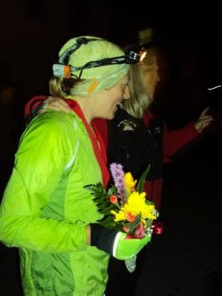 Ashley Arnold Leadville 100 2010 finish