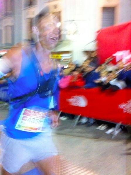 Mike Wolfe UTMB 2010 finish