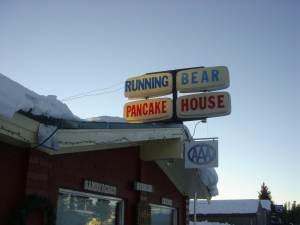West Yellowstone's Running Bear Pancake House