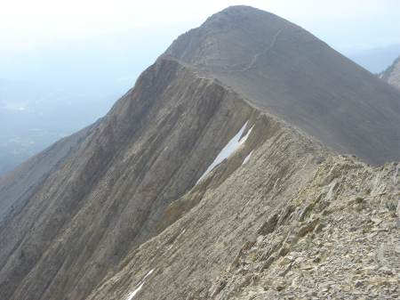 Bridger Ridge Sacajawea Peak