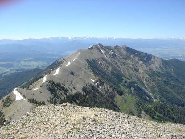 Bridger Crest from Saddle Peak