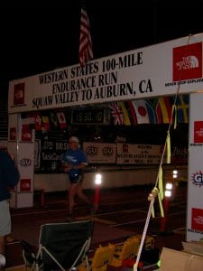 Bryon Powell Western States 100 2005 finish