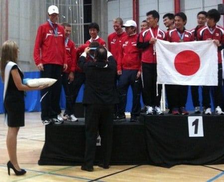 American Japanese Men's Teams 2010 IAU 100k World Championships