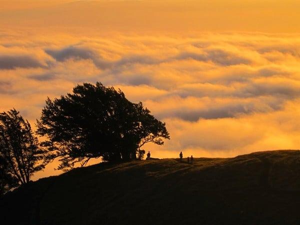 Sunset Mount Tamalpais