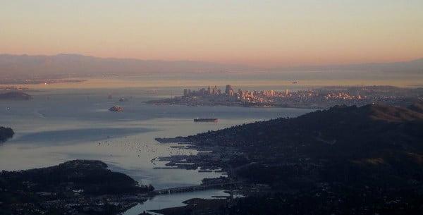 San Francisco Bay from Mount Tamalpais