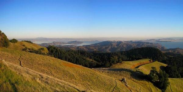 Trail running Mount Tamalpais