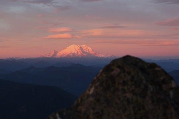 Mount Rainier running